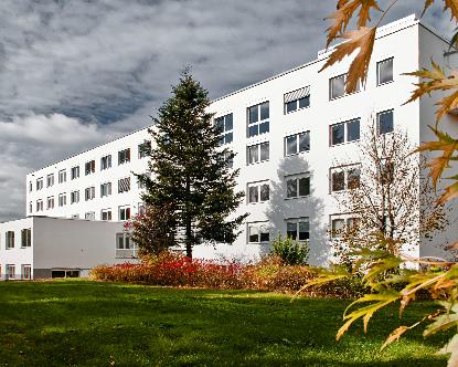Umbau einer Klinik in ein Dienstleistungs-Zentrum