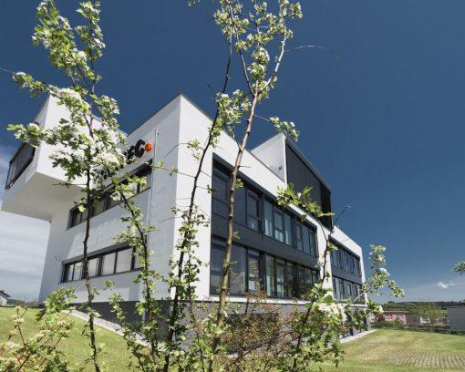 Neubau eines Bürogebäudes mit Penthouse